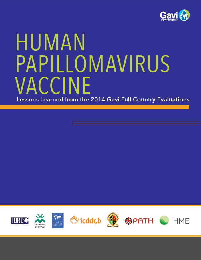 human papillomavirus vaccine demonstration projects)